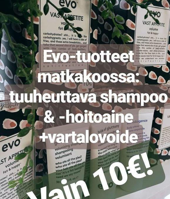 EVO-tuotesetti vain 10€!