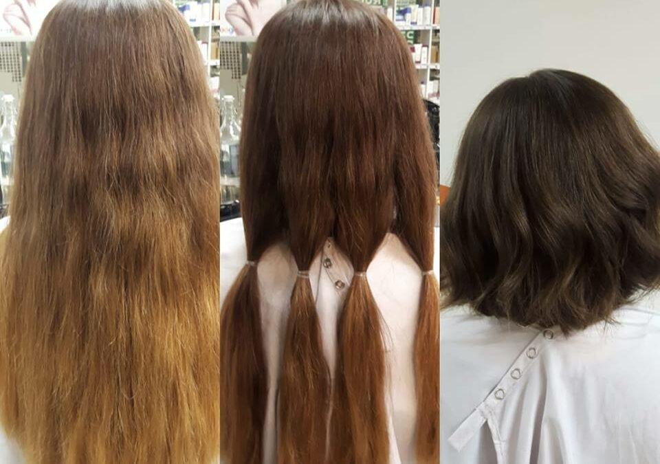 Haluaisitko lahjoittaa hiukset hyvään tarkoitukseen?