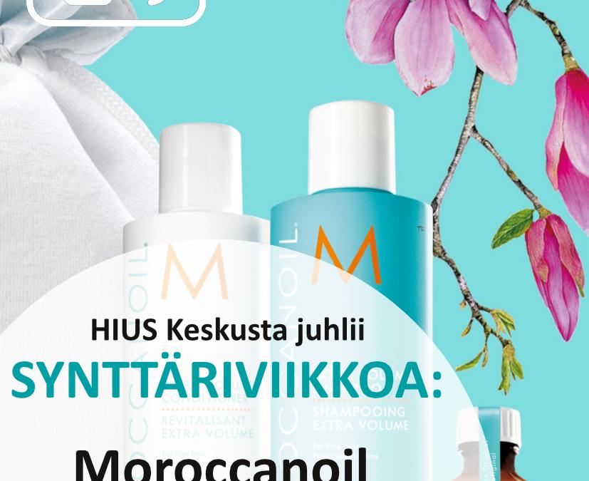 HIUS Keskusta ja Kauneushoitolan synttäriviikko 27.-31.5.2019!